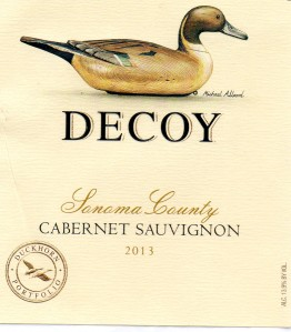 Decoy Sonoma County Cabernet Sauvignon 2013