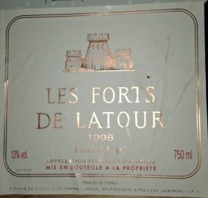 Les Forts de Latour 1998