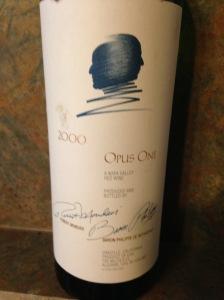 Opus One 2000