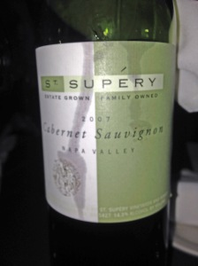 St Supery Cabernet Sauvignon 2007