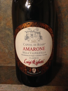 Capitel de Roari Amarone Classico 2011