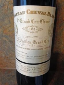 Ch Cheval Blanc 1992