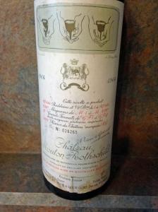 Ch Mouton Rothschild 1964