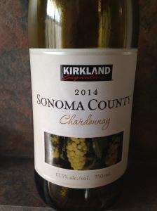 Kirkland Sonoma County Chardonnay 2014