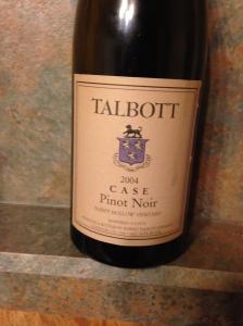 Talbott Case Pinot Noir 2004