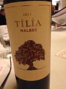 Tilia Malbec 2014