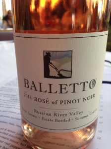 Balletto Rose of Pinot Noir 2014