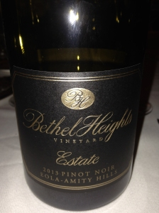 Bethel Heights Estate Pinot Noir 2013