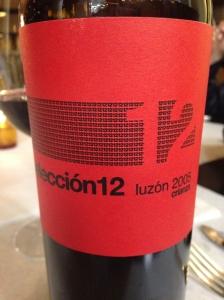 Bodegas Luzon Seleccion 12 Crianza 2005