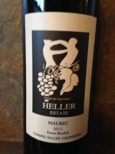 Heller Estate Malbec 2012