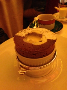 Le Cirque Chocolate Souffle