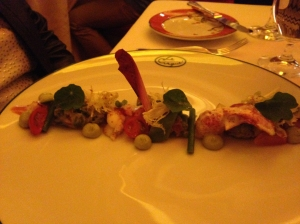 Le Cirque Lobster and Avocado Salad