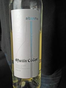 Martin Codax Albarino 2013