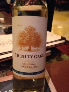 Trinity Oaks Pinot Grigio 2014