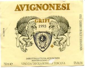 Avignonesi Grifi 1993