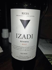 Bodegas Izadi Rioja Riserva 2011
