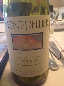 Montpellier Pinot Noir 2013