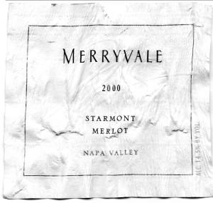 Merryvale Starmont Merlot 2000