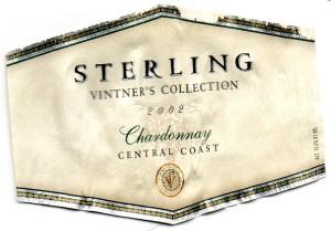 Sterling Chardonnay 2002