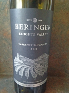 Beringer Knights Valley CS 2013