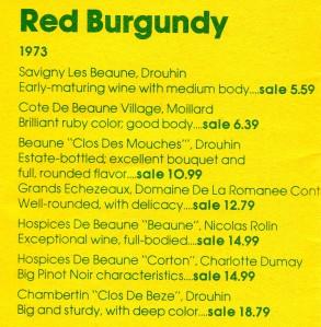 Hudson Wine Prices Example