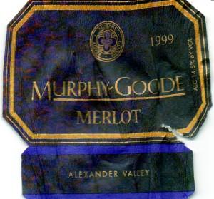 Murphy-Goode Merlot 1999