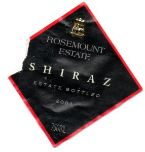 Rosemount Estate Shiraz 2001