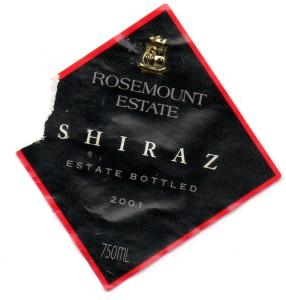 Rosemount Estate Shiraz 2001
