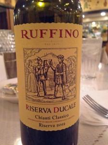 Ruffino Riserva Ducale 2012