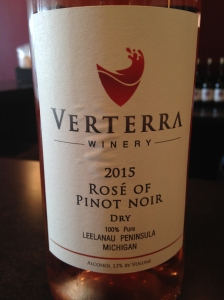 Verterra Rose of Pinot Noir 2015