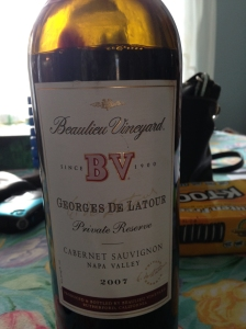 Beaulieu Vineyards Georges de Latour 2007