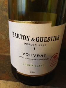 B&G Vouvray 2014