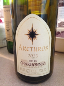 Black Star Farms Arcturos Sur Lie Chardonnay 2013