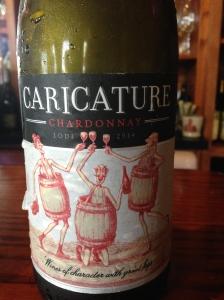Caricature Chardonnay Lodi 2014