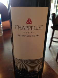 Chappellet Mountain Cuvee 2014