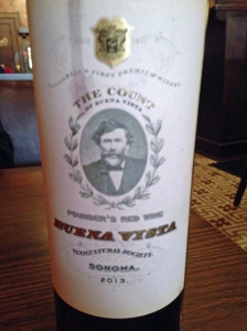Count of Buena Vista Founders Red 2013
