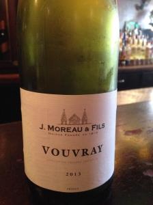 J Moreau & Fils Vouvray 2013