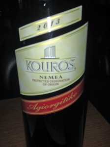 Kouros Red Nemea 2013