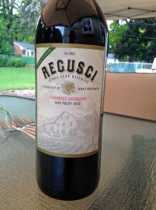 Regusci Stags Leap Cabernet Sauvignon 2012